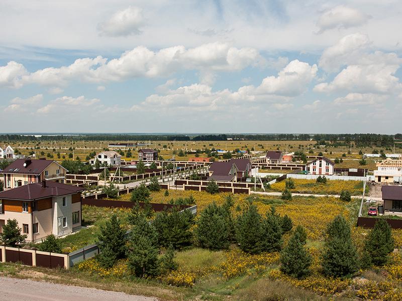 Начало строительства коттеджного поселка