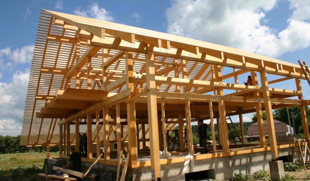 Строительство каркасных домов под ключ в Киеве по